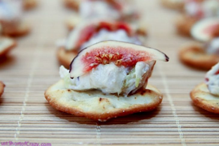 Goat Cheese & Fig Appetizer