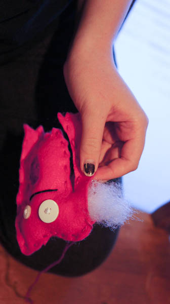 make your own felt monsters