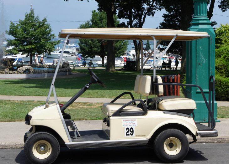 Golf Carts Of Put In Bay Oh Just Short Of Crazy
