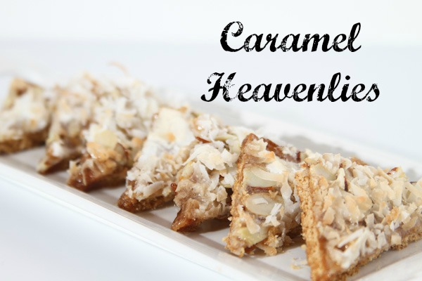 Caramel Heavenlies Easy Cookie Recipe