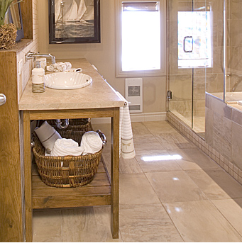 Bathroom Tile Flooring Now Come In A Wide Variety Of Colors And Textures,  Both Natural And Manmade. No Longer Is The Homeowner Limited To White Or  Beige ...