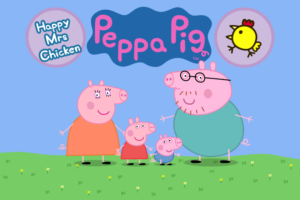 Peppa Pig Mrs Happy Chicken