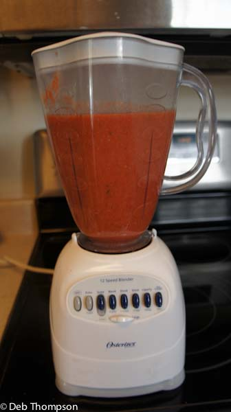 Easy Homemade Tomato Soup #cookclassico