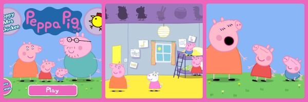 Peppa Pig Happy Mrs Chicken