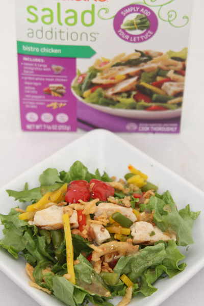 Lean Cuisine Salad Additions #BYOL