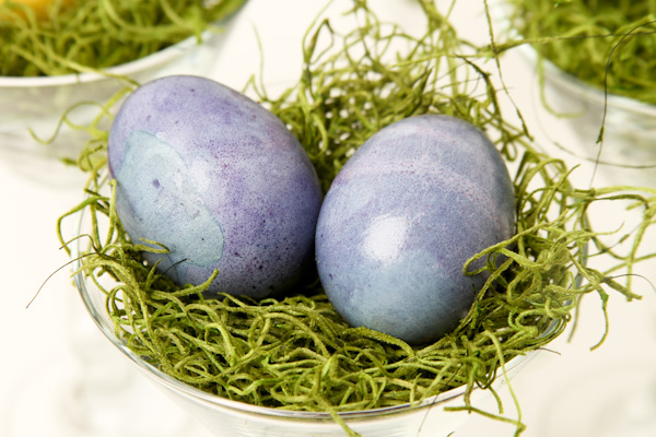 Natural Dyed Eggs 16 Natural Dyed Easter Eggs
