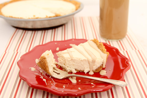 Iced Coffee Cheesecake #LightIcedCoffee