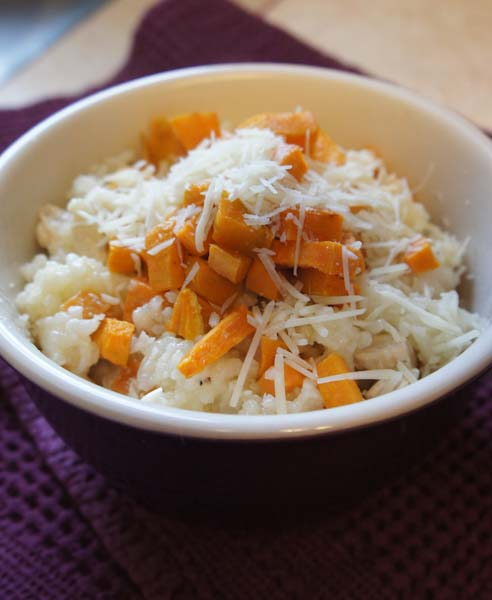 ... Baked Butternut Squash Risotto and thought…hmmm, baked risotto, now