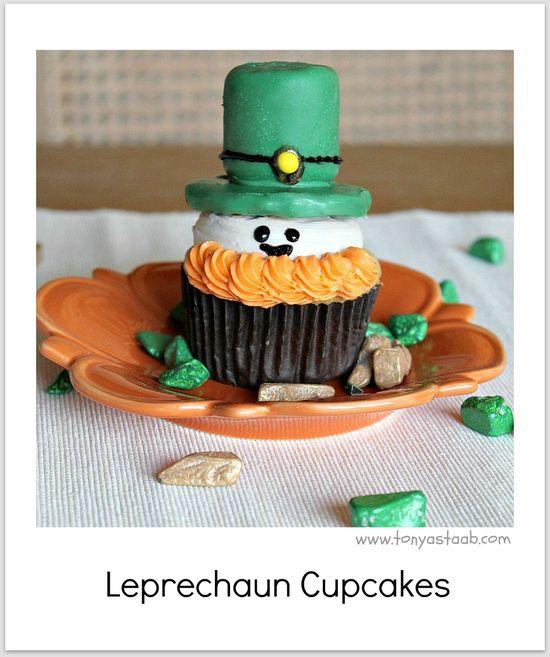 st pattys cupcakes