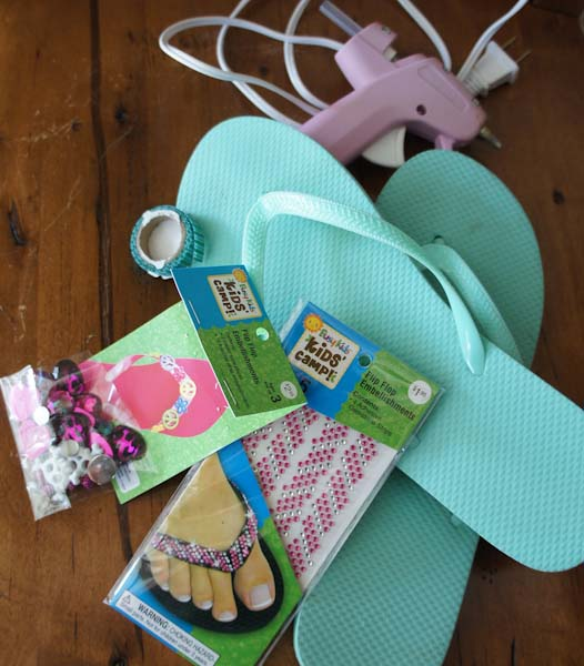 Kids Crafts Flip Flops