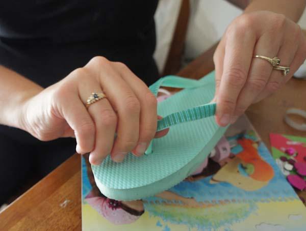 Kids Craft Flip Flops