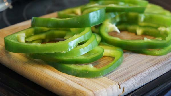 Green Pepper Rings