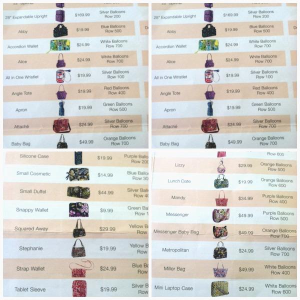 76ce3b74fda6 Vera Bradley Handbags  Price List For Vera Bradley Outlet Sale 2015