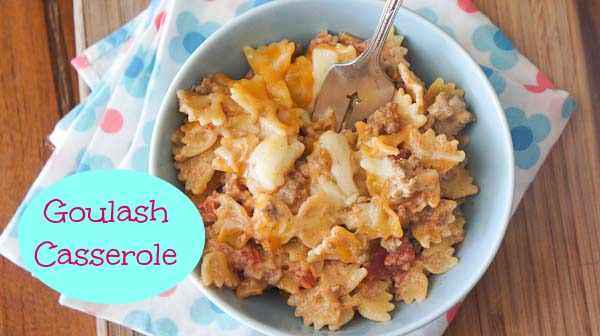Goulash Casserole Recipe
