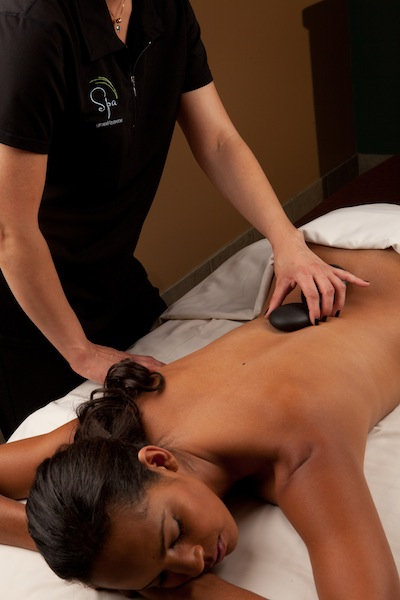 Hi-Res - Spa - Stone Massage