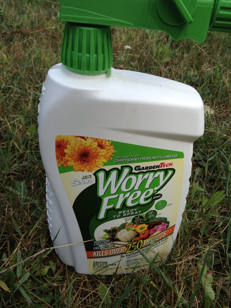 worry free ready to use insecticide