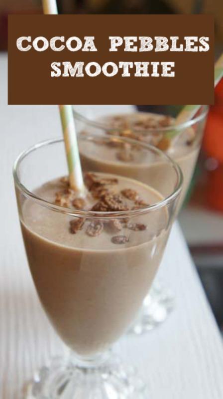 Cocoa Pebbles Smoothie