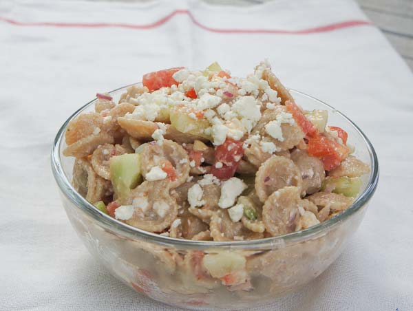 Summer Garden Pasta Salad Recipe