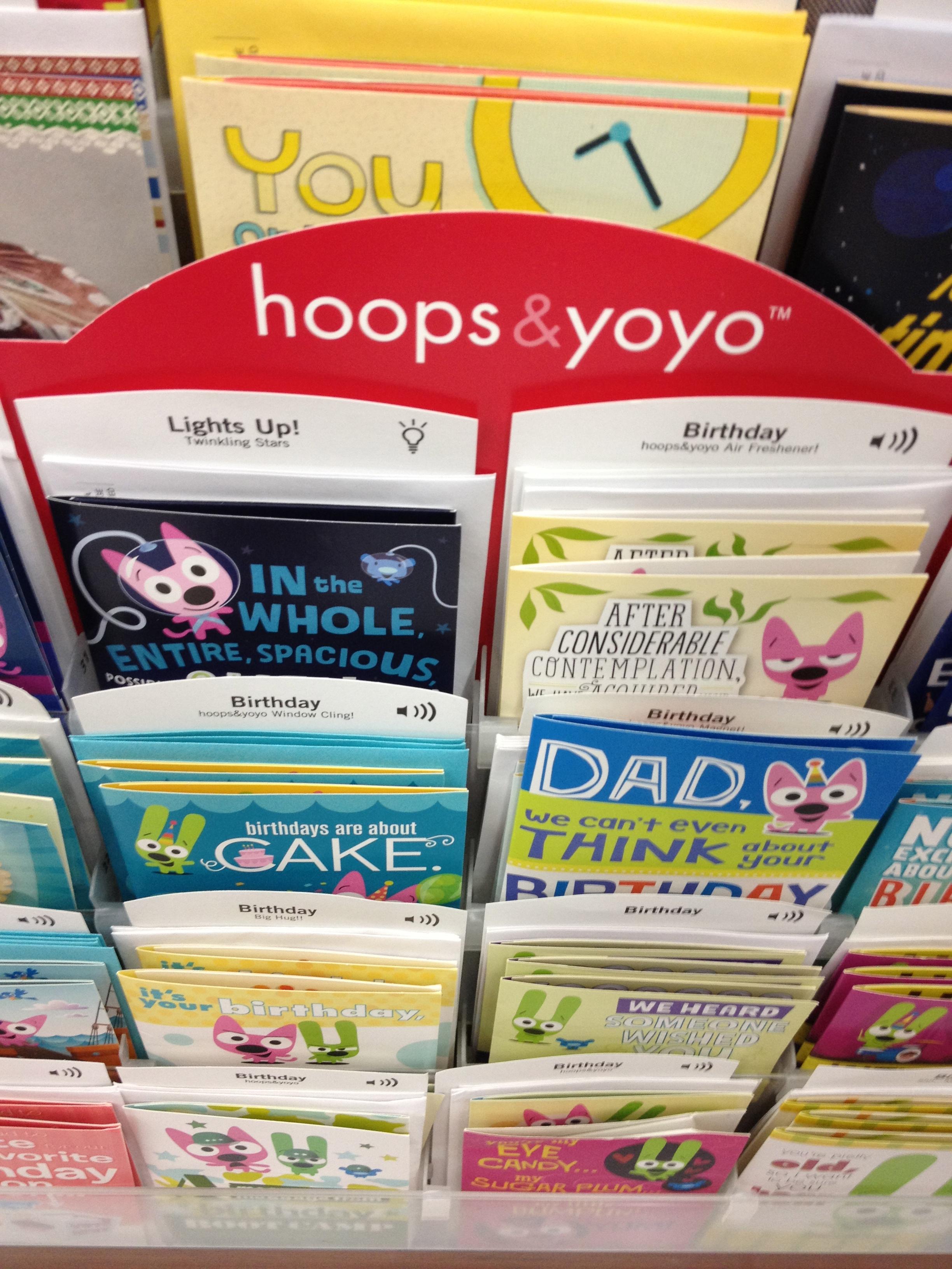 Yoyo Birthday Cards birthday card maker for kids greeting card – Hoops and Yoyo Birthday Card