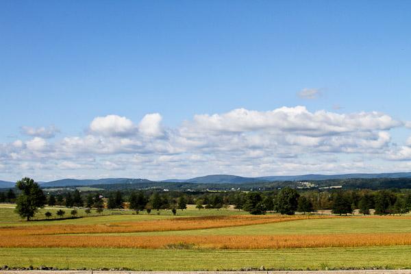 visiting gettysburg