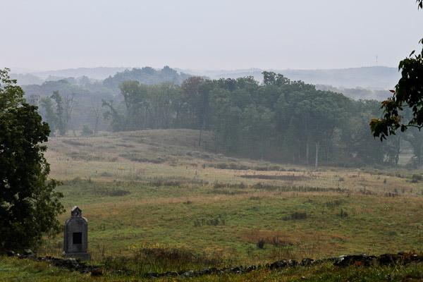visitng gettysburg
