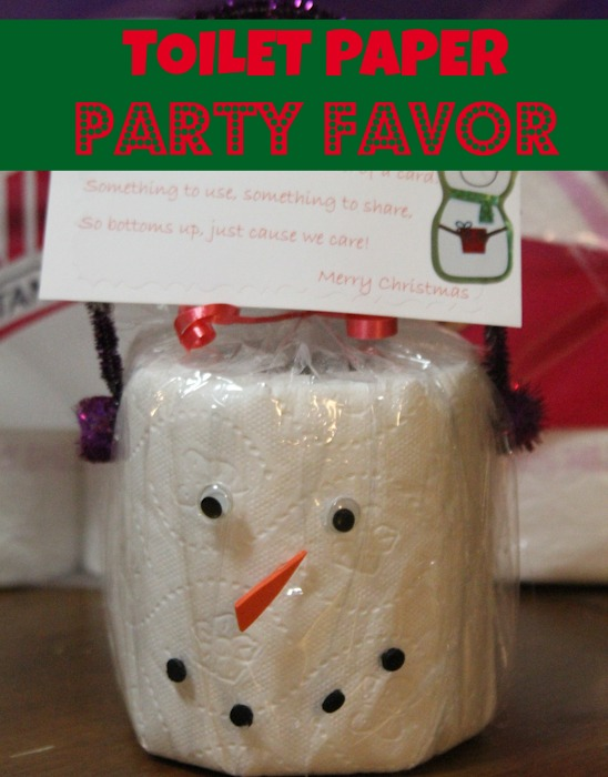 TOILET PAPER PARTY FAVOR