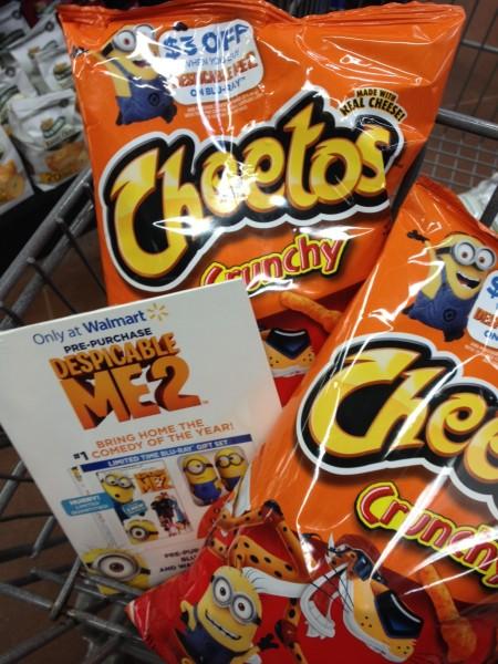 Despicable Me 2 & Cheetos®! - Just Short of Crazy